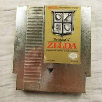 The Legend of Zelda Nintendo 1987 Original NES Gold Cart Cartridge Only Untested