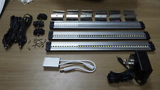 LED Cabinet Light - 42 Diodes 3W 12VDC Kit of 3 + Transfo & Dimmer - Cool White