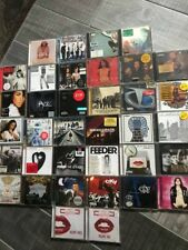 Bulk lot of cds,mixed,cky,foo fighters,jay-z,eighties,chili peppers,fall out boy