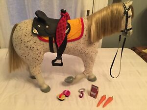 American Girl Doll of Today Retired Black Western Horse Saddle Blanket ONLY