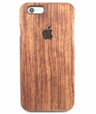 Apple iWood iPhone 6/6S Rose Wood Case 100% Genuine Solid Real Wood Cover ✅