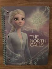 FROZEN Spiral Notebook ELSA  One Subject 70 Pages Wide Ruled Sheet Disney