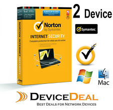 Norton Internet Security Antivirus Latest Version 2017 2 User 1 Y Windows & MAC
