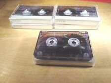 TDK  A 60 Blank Audio Cassette Tape Normal Bias.Low Noise High Output set of 6