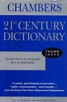 Chambers 21st Century Dictionary Hardcover Chambers