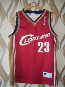 NBA CLEVELAND CAVALIERS BASKETBALL JERSEY CHAMPION LEBRON JAMES #23