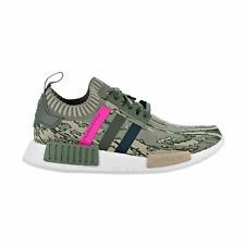 Adidas NMD_R1 PK W Women Primeknit Green Night Shock Pink Glitch Camo BY9864