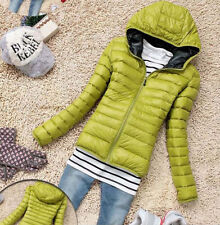 US NEW Women's Short Coat Hooded Down Coat Parka Jacket Winter Warm Outwear GIFT