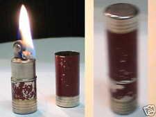 Briquet Ancien ** forme rouge à lévre ** Vintage Lighter Feuerzeug Accendino