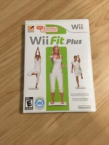 Wii Fit Plus Wii Game Only 2009