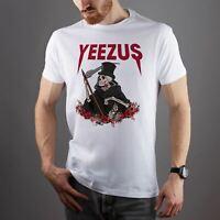 Yeezus Skillet Skull Unisex Fit Man Woman T-Shirt Gift Idea Cool Printed T-Shirt