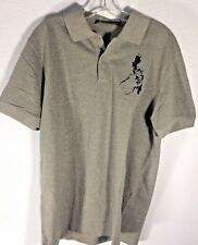 cd2f3296 Collezione C2 NWT grey polo style map shirt w embroidered Philippine map