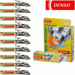 10 X Denso Iridium Power Spark Plugs 2004-2005 Porsche Carrera GT 5.7L V10