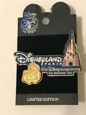 WDI- 50TH ANNIVERSARY DISNEYLAND PARIS (GOLD) LE 2500 DISNEY PIN 22390