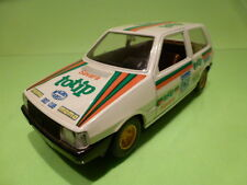 BBURAGO 9104 FIAT UNO - RALLY TOTIP PIRELLI No 262 - WHITE 1:24 - VG