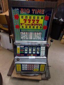 "Vintage Bally Slot Machine ""Big Time"" - 25 Cent - Project"