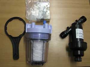 Inline Cartridge Water Filter IBC Fitting Water Tank Filter