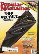 Popular Mechanics Dec 1991 Stealth Aircraft - Mount Pinatubo - CDTV