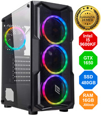 Gaming PC Intel I5-9600KF 4,60Ghz - GTX 1650 SUPER - SSD - 16GB FORTNITE WIN10