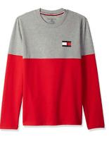Tommy Hilfiger Men's Modern Essentials Colorblocked French Terry Sweatshirt Logo