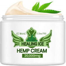 Rich Extra Strength Hemp Pain Relief Cream 20,000mg Hemp Oil ~ 2.5 oz Jar