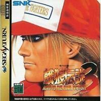 USED Fatal Fury 3 Sega Saturn SS Japan Import