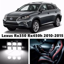 19pcs LED Xenon White Light Interior Package Kit for Lexus Rx350 Rx450 2010-2015