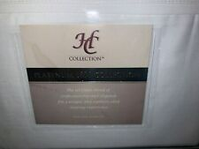 HC Collection Platinum 1800 Hotel Collection Sheets FULL SIZE White FAST SHIP!