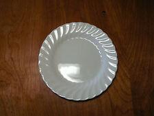 "Johnson Bros England REGENCY Set of 6 Bread Plates 6 1/4"" White Swirl"