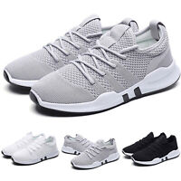 Men Running Walking Shoes Breathable Jogging Sneakers Casual Sports Lace Up Shoe