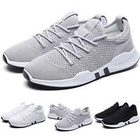 Herrenschuhe Mesh Sneaker Turnschuhe Sportschuhe Laufschuhe Freizeitschuhe Weiß