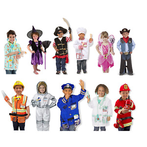 Melissa & Doug Kids Costume - Astronaut / Police Officer / Fairy / Nurse & more!