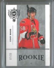 2007-08 UD Upper Deck The Cup Cody Bass Platinum Rookie RC 07/25