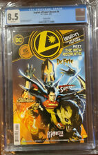 Legion of Super-Heroes #6 DC Coics 1st appearance of Gold Lantern CGC 8.5