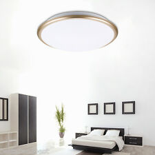 LED Ceiling Light Flush Mount Fixture Lamp 30W Bedroom Living Room Cool White SH