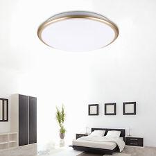 Round LED Ceiling Light Flush Mount Fixture Bedroom Living Room Cool White HS