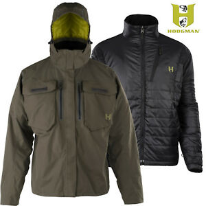 Hodgman® Aesis 3 in 1 Fishing Jacket Waterproof Shell & Inner Jacket