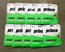 Lot Of 10 PRINCE SYNTHETIC GUT 16 with DURAFLEX Red 16 Gauge 40ft 12.2M STRING