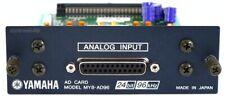YAMAHA MY8-AD96 Analog Input Card 01V96 02R96 LS9 AW DM2000 / Rechng + GEWÄHR