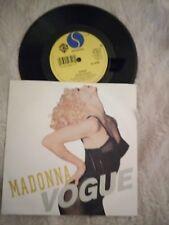 MADONNA - VOGUE  7'' vinyl single 1989  SIRE W9851