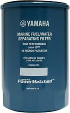 Fuel Water Separator Filter Mini 10 Micron 2-4 Stroke Yamaha Outboard Engine New