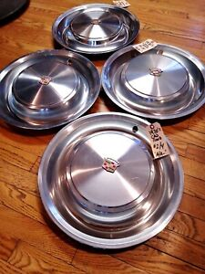 1963-92 1973 Cadillac Fleetwood Deville Factory Wheel Covers  SUPERB SET OF 4~!