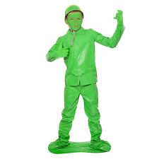 Boys Toy Soldier Fancy Dress Costume Kids Army Military Great for Book Week