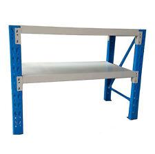 120x60x90cm Metal Steel Workbench Workshop Shelving Warehouse Stand Work Bench