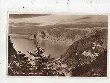 Evening Lynmouth Bay 1959 RP Postcard 900a
