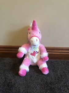 Dan Dee Collectors Choice Pink Unicorn Plush Toy 20cm