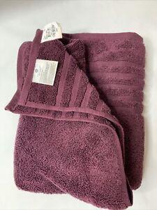 "Hotel Collection Ultimate MicroCotton® 30"" x 56"" Bath Towel Bordeaux Wine"
