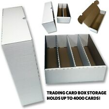 More details for bcw trading card storage box holds 1000 - 4000 cards! yugioh, pokemon, mtg