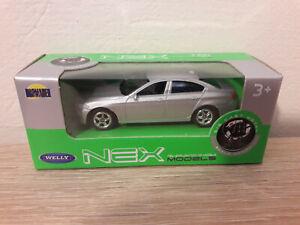 Welly NEX BMW 535i 5 series, Silver, No. 52319 - 1:64 1/64 1:60 1/60