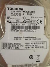 250 gb toshiba mk2565gsx s/n 90scc2q4t jj3 EC. a hdd2h84 a sl01 t x075 disco duro